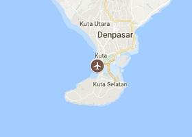 Denpasar vliegveld Bali