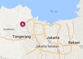 Jakarta vliegveld Soekarno Hatta