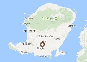 Lombok vliegveld Mataram