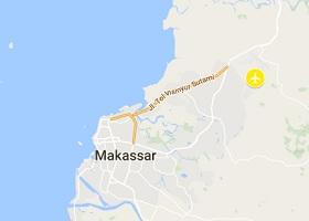 Makassar vliegveld Sulawesi