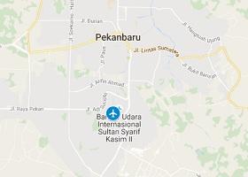 Pekanbaru vliegveld Sultan Syarif Kasim II
