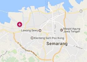 Semarang vliegveld Achmad Yani