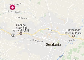 Surakarta vliegveld Adisumarmo