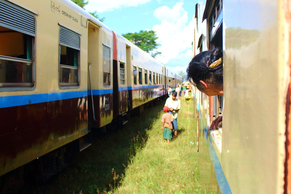 Vervoer in Myanmar