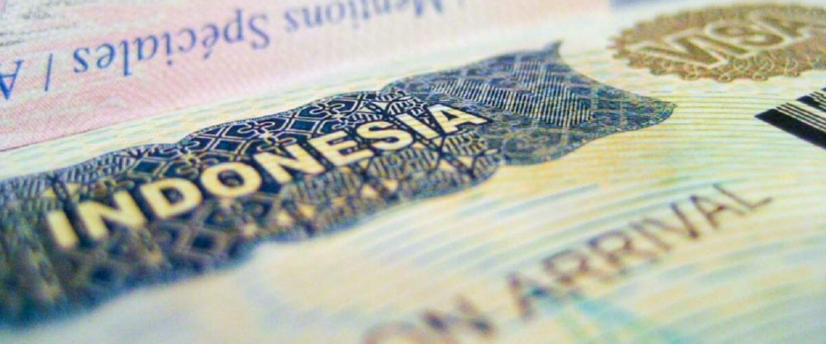 Visum voor Indonesie