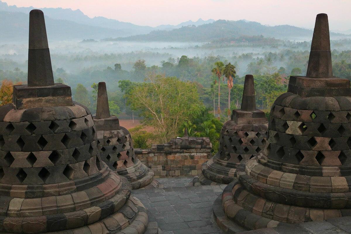 Yogyakarta reistips Borobudur