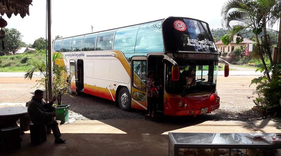 Busstop Phnom Penh - Sihanoukville