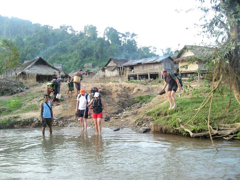 Beste reistijd voor trekking in Laos