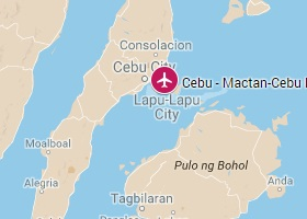 Cebu vliegveld Mactan-Cebu International Airport