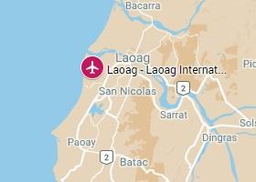 Laoag vliegveld Laoag International Airport