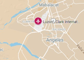 Luzon vliegveld Clark International Airport