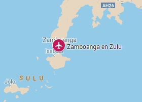 Zamboanga en Zulu vliegveld Zamboanga International Airport