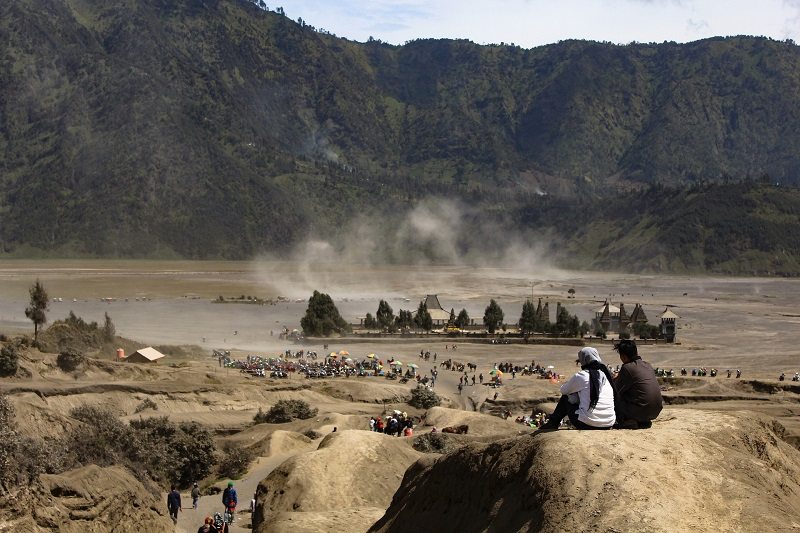 Bromo vulkaan op Java