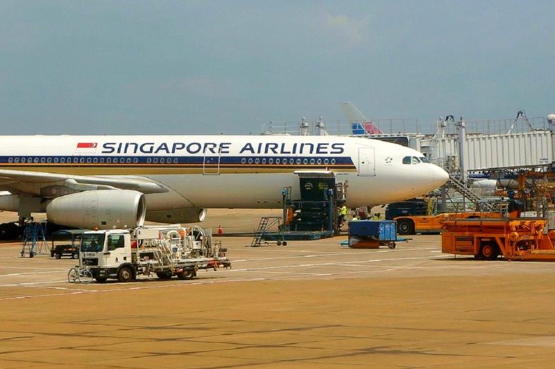 Vliegvelden in Singapore