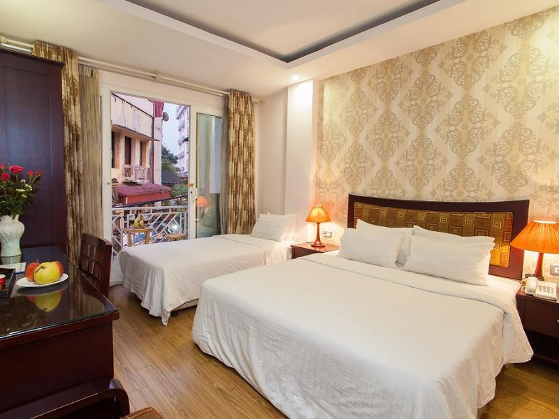 Budget hotel tip Hanoi