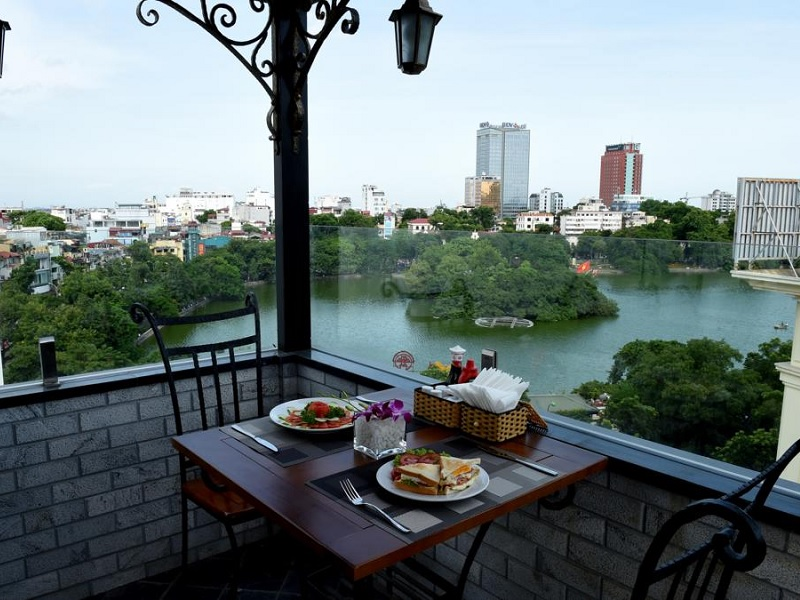 Leuk hotel in Hanoi