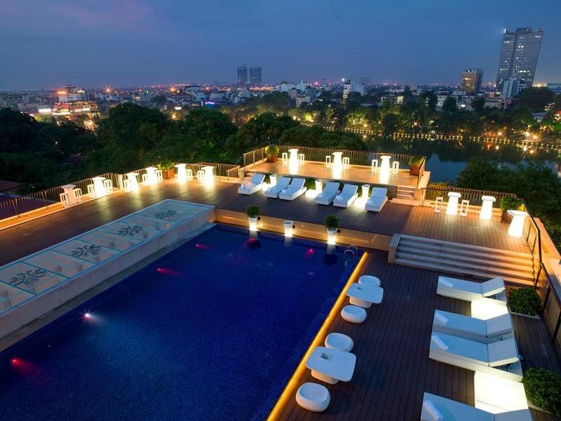 Luxe hotel tip Hanoi