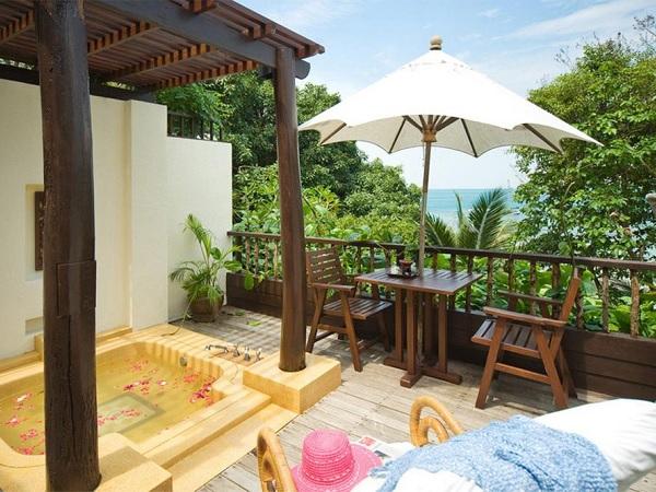 Luxe hotel tip Koh Samet