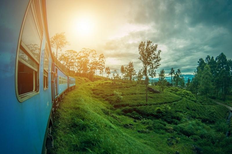 Online treintickets voor Sri Lanka boeken