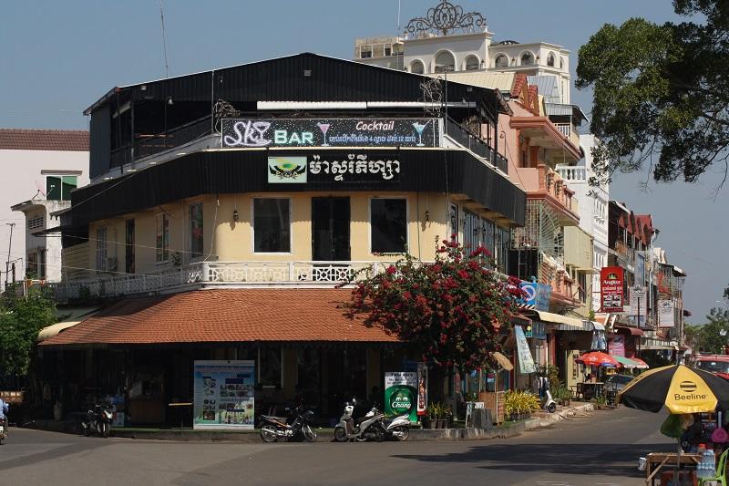 Centrum van Kampong Cham