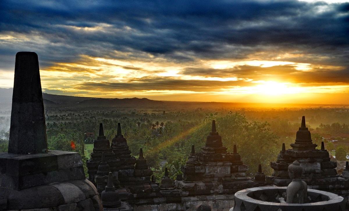 Borobudur in Yogyakarta