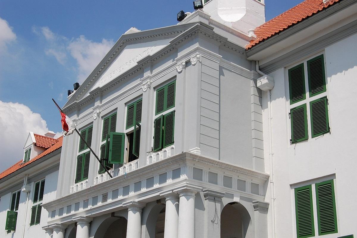 Koloniaal gebouw in Jakarta